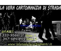 LA VERA CARTOMANZIA DI STRADA GRATIS CON LA LUNA DELLE CARTOMANTI