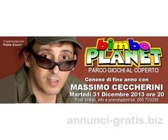 Cenone di fine anno con Massimo Ceccherini