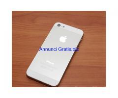 iPhone 5 da 16 GB usato originale bianco