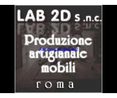 La falegnameria Mattioli produttrice artigianale di mobili su misura a Roma.