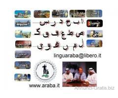 Insegnante Arabo Madrelingua X Corso di Lingua Araba