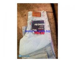 Ingrosso jeans Zip