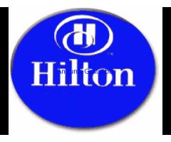 Hotel Staffs Needed At London Hilton Hotel
