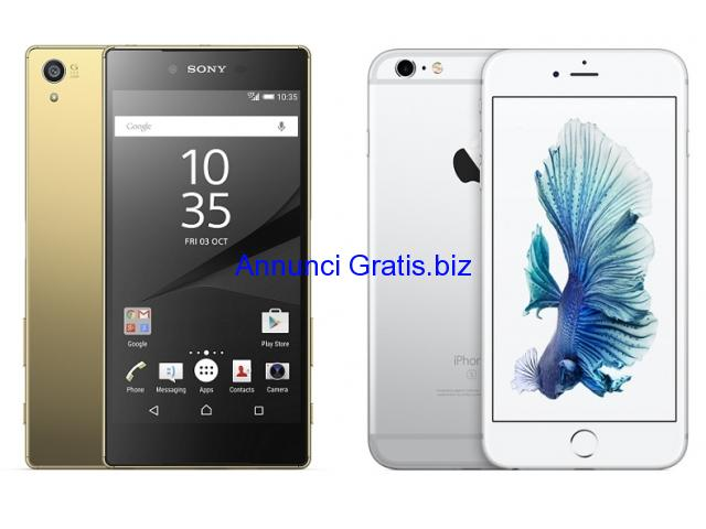 Sony Xperia Z5,iPhone 6S, 6S Plus, 6, S6 edge+,Note 5 405euro