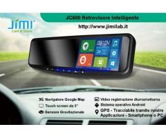 Retrovisori intelligenti Tel+GPS+Navigatore+Videoregistrazione+altro