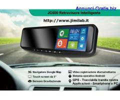Retrovisore intelligente Telefono+navigatore+bluetooth+telecamere+android+app