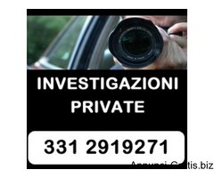 INVESTIGAZIONI PRIVATE ROMA