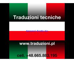 Polacco - traduzioni tecniche e consulenze aziendali in Polonia